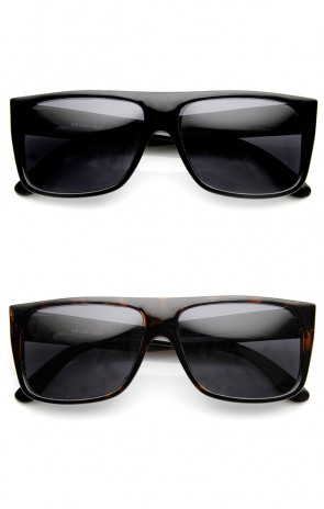 Classic Old School Eazy E Flat Top Polarized Locs Sunglasses
