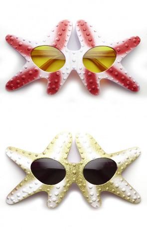 Starfish Patrick Star Under The Sea Novelty Party Costume Sunglasses