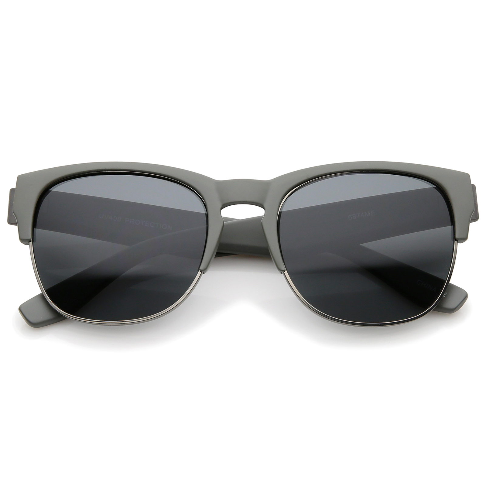 Glasses Frames Wide Bridge : sunglass.LA Contemporary Wide Temple Keyhole Nose Bridge ...