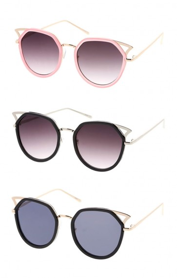 Women's Wire Cat Eye Wholesale Sunglasses