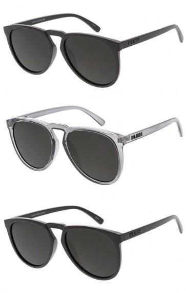 KUSH Oversized Horn Rimmed Wholesale Sunglasses