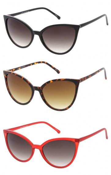 Retro Small Frame Cat Eye Wholesale Sunglasses
