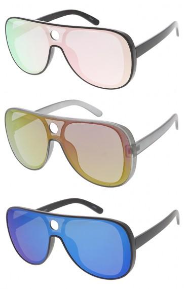 Retro Large Shooter Aviator Revo Lens Wholesale Sunglasses
