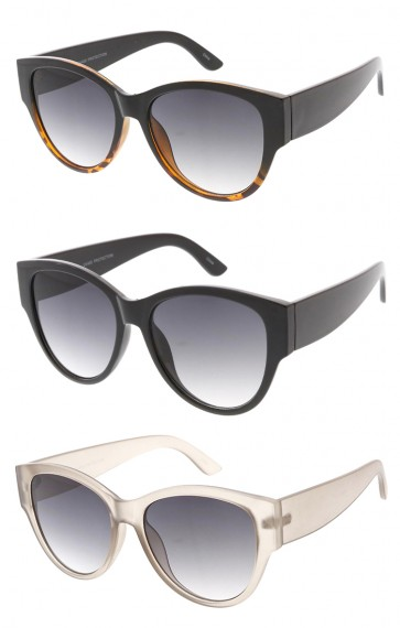 Oversized Horn Rimmed Womens Wholesale Sunglasses