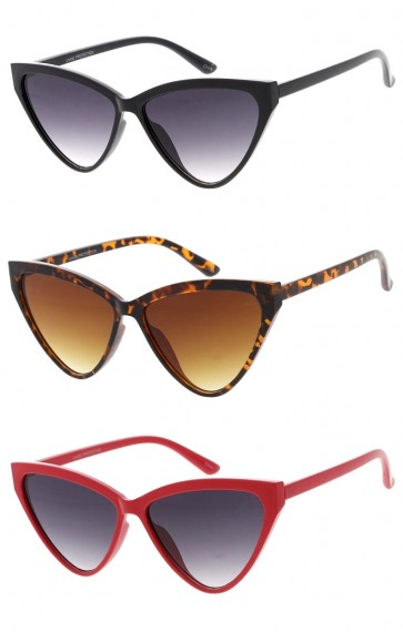 Womens Vintage Retro Cat Eye Wholesale Sunglasses