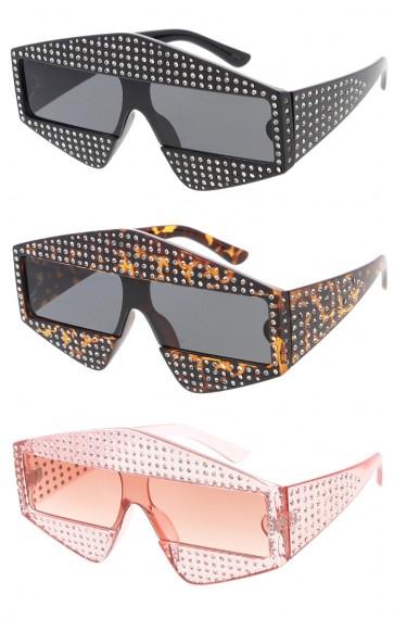 Women's Cat Eye Rhinestone Wholesale Sunglasses