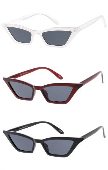 Thin Retro Style Cat Eye Womens Wholesale Sunglasses