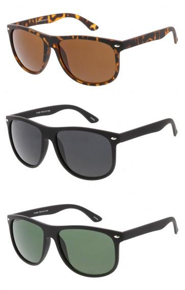 Retro Soft Rubber Aviator Wholesale Sunglasses