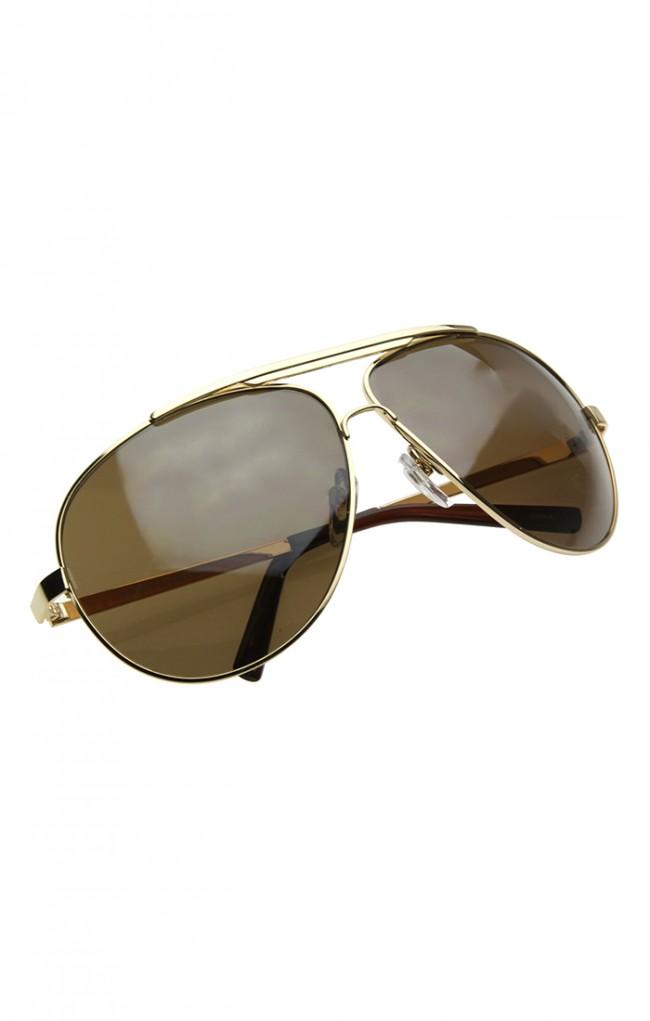 Big Frame Aviator Glasses : High Quality Full Frame Big X-Large Oversized Metal ...