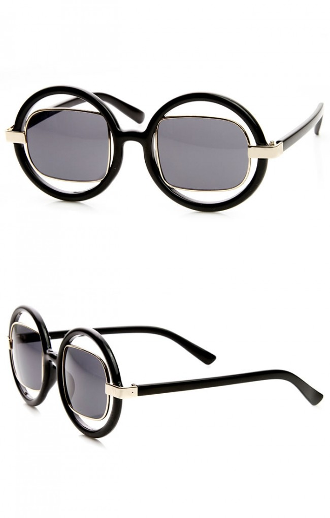 141e3746aa ... Metal Square Tinted Lens Fashion Sunglasses · Zoom