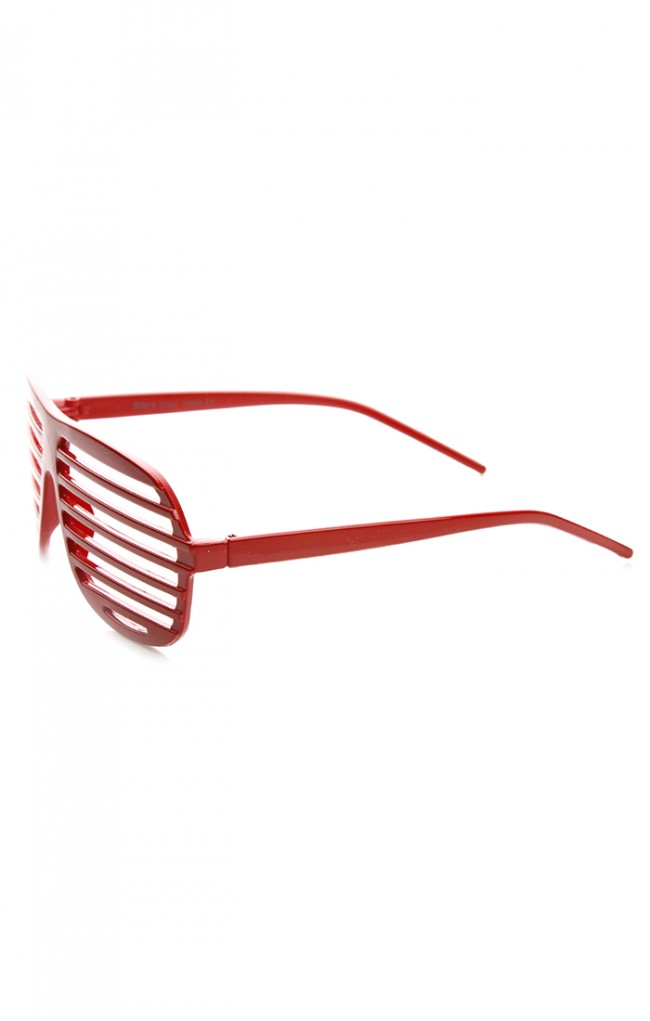 4716f8f848a Shutter Shades Venetian Blind Stronger Kanye Novelty Glasses. Zoom