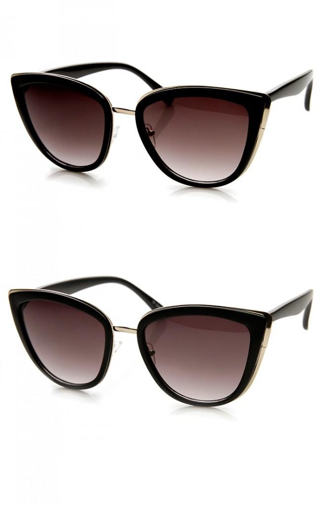 04e10a3fc53 Oversized Cat Eye Sunglasses Cheap