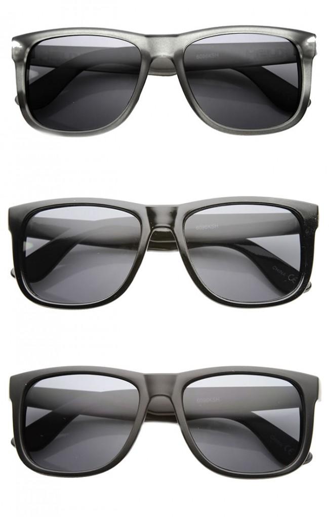 80a2ce3838a Mens Retro Large KUSH Brand Plastic Horned Rimmed Sunglasses · Zoom