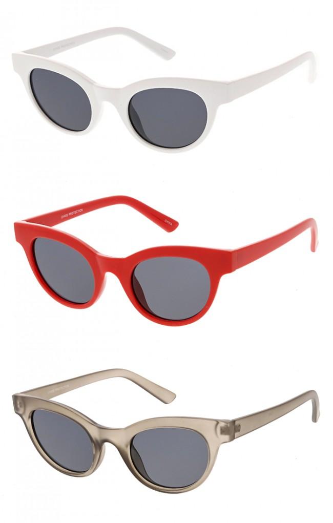3304b81bcb Retro Cat Eye Sunglasses Bulk