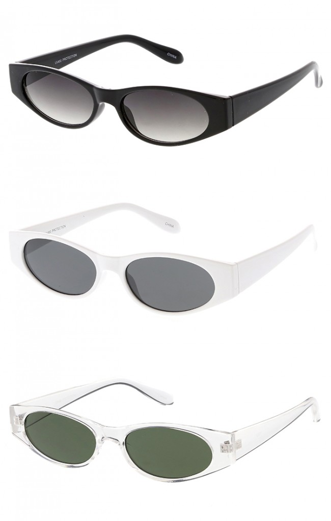 7719789e377 Edgy Small Cat Eye 90s Vintage Wholesale Sunglasses