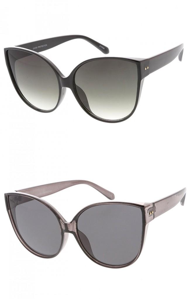 9be9af59626 Oversized Vintage Cat eye Lens Wholesale Womens Sunglasses