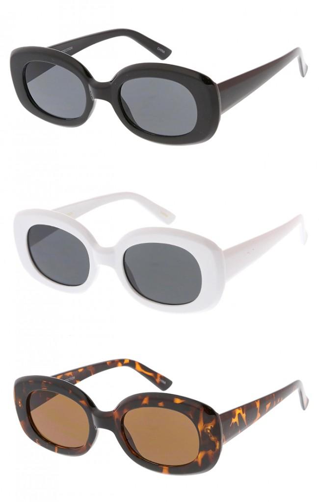 20171950542 Retro Square Clout Goggles Wholesale Sunglasses. Zoom