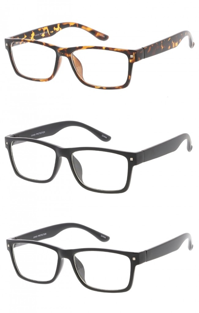 Classic Small Frame Clear Lens Wholesale Glasses