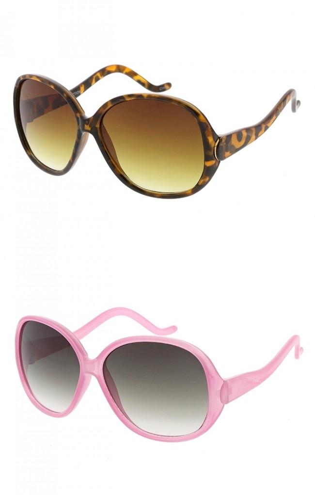 Oversized Retro Square Kids Wholesale Sunglasses