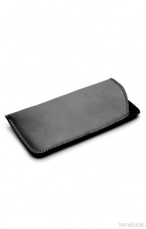 Vinyl Slip Eyewear Case (Black)