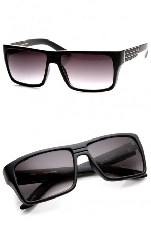 High Quality Modern Fashion Flat Top Rectangular Sunglasses