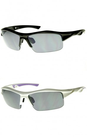 Large Wide Fit Cycling Active Sports TR-90 Frame Sunglasses