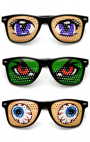 Poker Face Animal Goofy Eyes Costume Party Novelty Sunglasses