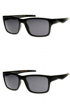 Premium Action Sports Lifestyle Modified Rectangle Sunglasses