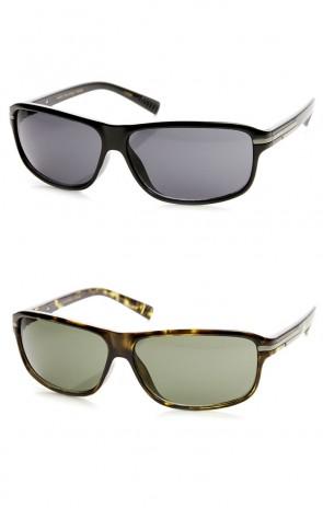 Modern Fashion High Fashion Active Lifestyle Rectangle Sunglasses