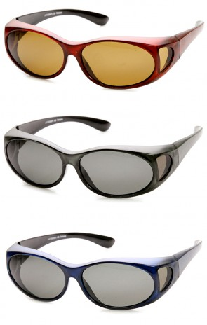 Polarized Cover Fit On Overlap Full Protection Sunglasses