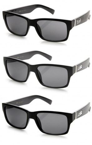 Locs Hardcore Eyewear Brand Rectangle Classic Thug Life Sunglasses
