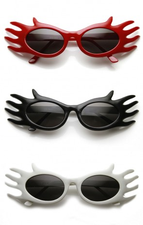 Finger Hand Frame Masquerade Costume Novelty Party Sunglasses