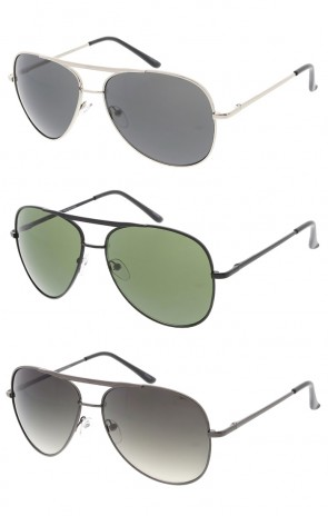 Classic Metal Aviator Wholesale Sunglasses