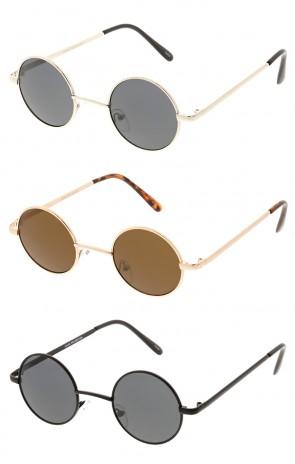Retro Lennon Round Wholesale Sunglasses
