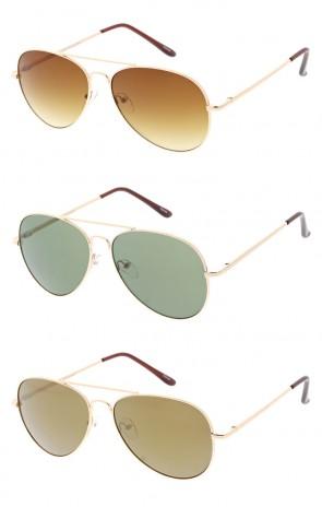 Aviator Metal Frame Indie Wholesale Sunglasses
