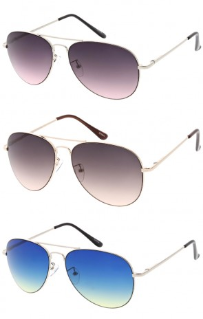 Classic Aviator Premium Wholesale Sunglasses