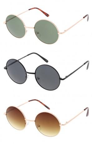 Retro 1970's Lennon Round Wholesale Sunglasses