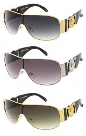 Vivant Classic Vintage Luxury Mono Lens Wholesale Sunglasses