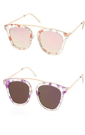 Womens Fashion Aviator Style Sunglasses