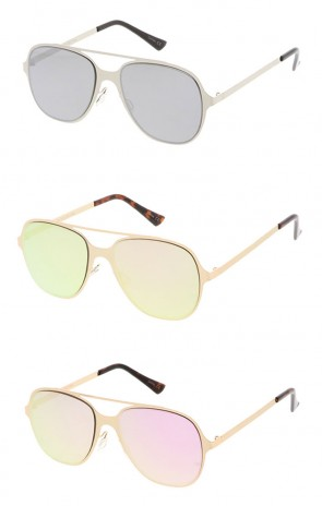 Crossbar Aviator Wholesale Sunglasses
