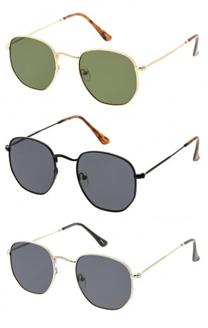 Premium Retro Small Octagon Wholesale Sunglasses