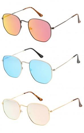 Vintage Indie Flat Lens Wholesale Sunglasses