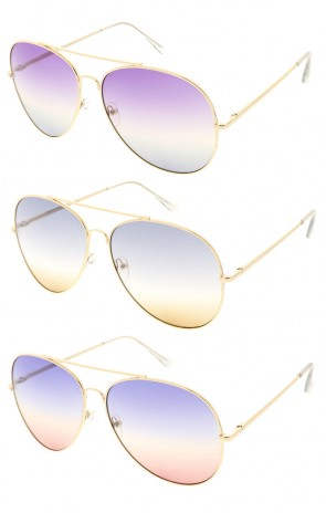 Classic Aviator Metal Wholesale Sunglasses