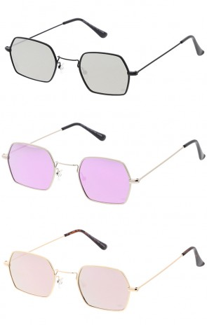 Premium Retro Geometric Octagon Revo Lens Wholesale Sunglasses