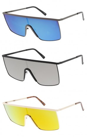 Retro Flat Metal Frame P3 Wholesale Sunglasses