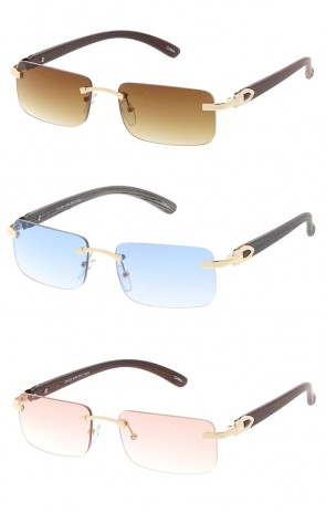 Small Rectangle Frameless Wholesale Sunglasses