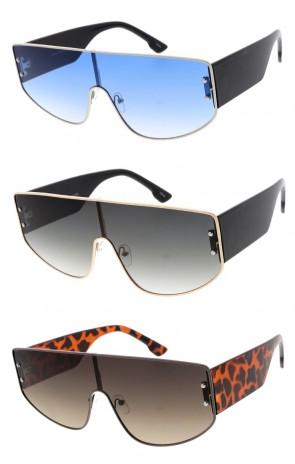 Metal Futuristic Wholesale Sunglasses