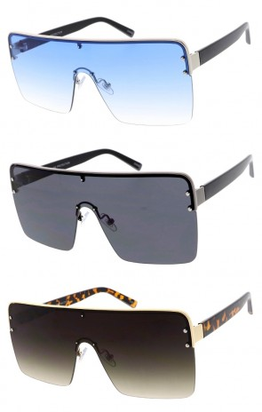 Metal Oversize Wholesale Sunglasses