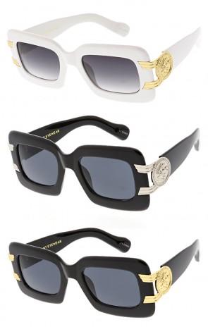 Vivant Vintage Classic Gangster Hip Hop Horn Rimmed Wholesale Sunglasses