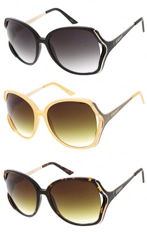Vivant Oversized Designer Luxury Wholesale Sunglasses